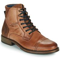 kengät Miehet Bootsit Casual Attitude HOKES Ruskea