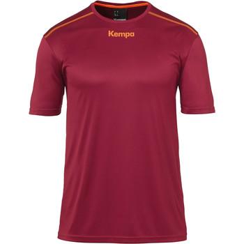 vaatteet Pojat Lyhythihainen t-paita Kempa Maillot  Poly rouge