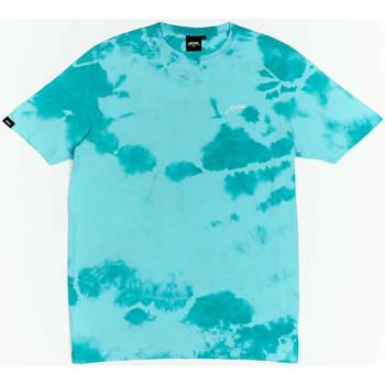 vaatteet Pojat Lyhythihainen t-paita Wrung T-shirt  New Sign bleu turquoise/blanc/noir
