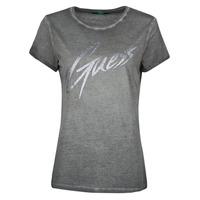 vaatteet Naiset Lyhythihainen t-paita Guess SS CN IVONNE TEE Black