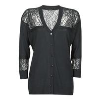 vaatteet Naiset Neuleet / Villatakit Guess IRENE CARDI SWTR Musta