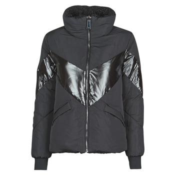 vaatteet Naiset Toppatakki Guess ORIETTA REVERSIBLE Black