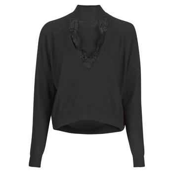 vaatteet Naiset Neulepusero Guess FATIMA TURTLE Musta