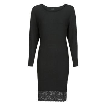 vaatteet Naiset Lyhyt mekko Guess CELINE Musta