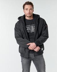 vaatteet Miehet Pusakka Guess NAUGHTY BOMBER Black