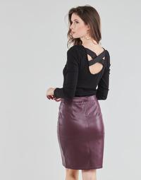 vaatteet Naiset Topit / Puserot Guess AYADA Musta