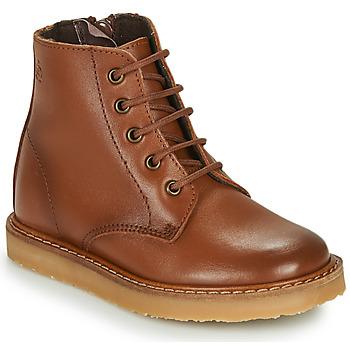 kengät Lapset Bootsit Citrouille et Compagnie HATINE Brown