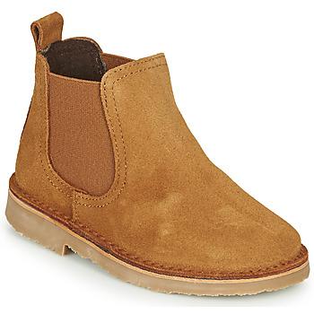kengät Lapset Bootsit Citrouille et Compagnie HOVETTE Camel