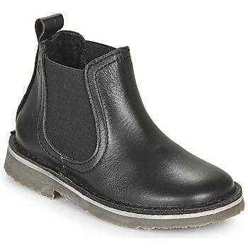 kengät Lapset Bootsit Citrouille et Compagnie HOVETTE Musta