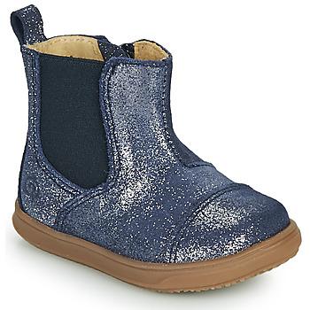 kengät Tytöt Bootsit Citrouille et Compagnie FEPOL Laivastonsininen