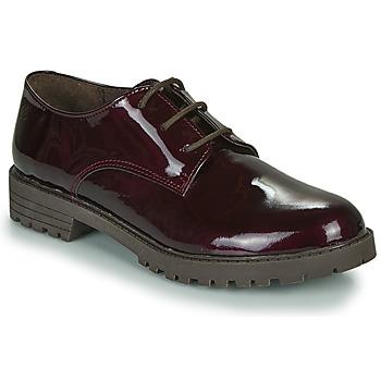 kengät Tytöt Derby-kengät Citrouille et Compagnie NALIME Viininpunainen