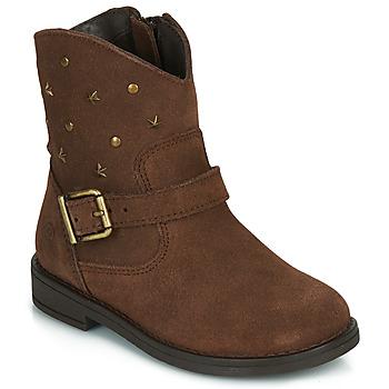 kengät Tytöt Bootsit Citrouille et Compagnie NESTI Brown
