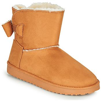 kengät Naiset Bootsit Moony Mood NOWER Camel