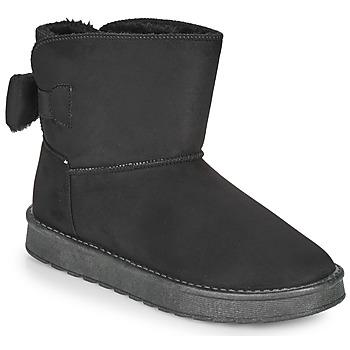 kengät Naiset Bootsit Moony Mood NOWER Musta