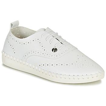 kengät Naiset Espadrillot Les Petites Bombes DIVA Valkoinen