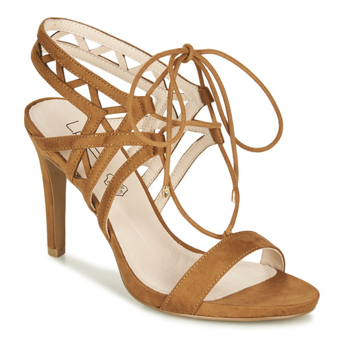kengät Naiset Sandaalit ja avokkaat Les Petites Bombes MACHA Camel