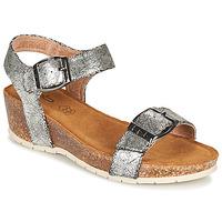 kengät Naiset Sandaalit ja avokkaat Les Petites Bombes NARCISS Hopea