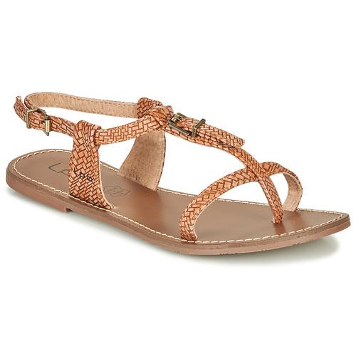 kengät Naiset Sandaalit ja avokkaat Les Petites Bombes ZHOEF Kamelinruskea