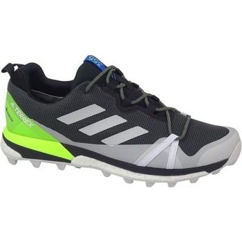 kengät Miehet Vaelluskengät adidas Originals Terrex Skychaser LT Gtx Grafiitin väriset,Vaaleanvihreä,Harmaat