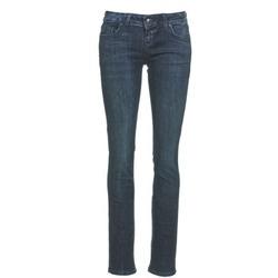 vaatteet Naiset Suorat farkut LTB ASPEN Blue / Fonce