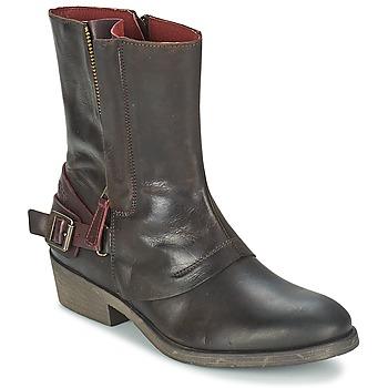 kengät Naiset Bootsit Kickers AMERIKO Brown