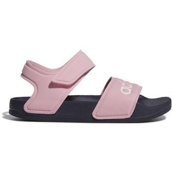 kengät Tytöt Sandaalit ja avokkaat adidas Originals Adilette Sandal Vaaleanpunaiset