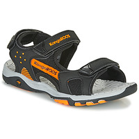 kengät Pojat Urheilusandaalit Kangaroos K-Celtic Black / Orange