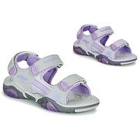 kengät Lapset Urheilusandaalit Kangaroos Sandalshine Grey / Violet