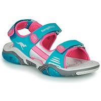 kengät Lapset Urheilusandaalit Kangaroos Sandalshine Blue / Pink