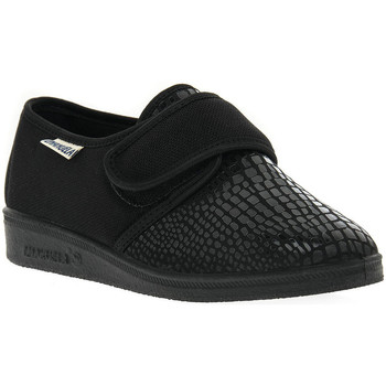 kengät Naiset Tossut Emanuela 649 NERO PANTOFOLA Nero