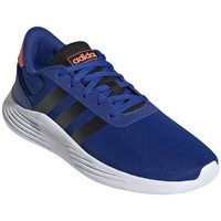 kengät Pojat Juoksukengät / Trail-kengät adidas Originals Lite Racer Valkoiset, Vaaleansiniset, Oranssin väriset