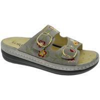 kengät Naiset Sandaalit Calzaturificio Loren LOB5021ta tortora