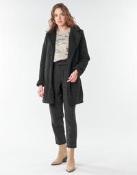 vaatteet Naiset Paksu takki Vila VILIOSI Black