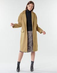 vaatteet Naiset Paksu takki Vila VICALLEE Kamelinruskea