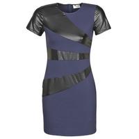 vaatteet Naiset Lyhyt mekko Moony Mood NEOFORGE Laivastonsininen