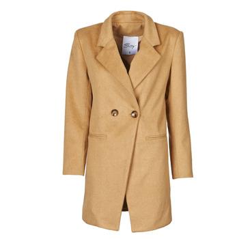 vaatteet Naiset Paksu takki Betty London LORDLY Beige