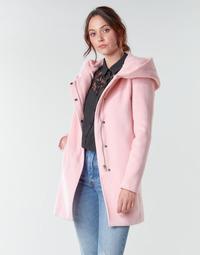 vaatteet Naiset Paksu takki Moony Mood NANTE Vaaleanpunainen