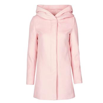 vaatteet Naiset Paksu takki Moony Mood PANTE Vaaleanpunainen