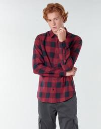 vaatteet Miehet Pitkähihainen paitapusero Only & Sons ONSGUDMUND Bordeaux / Black