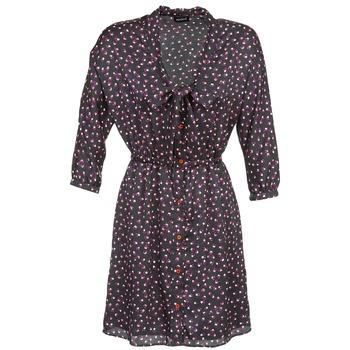 vaatteet Naiset Lyhyt mekko Kookaï IXIMALE Black / Violet