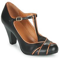 kengät Naiset Korkokengät Cristofoli MESTIS Black / Bronze