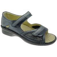kengät Naiset Sandaalit ja avokkaat Calzaturificio Loren LOM2834bl blu