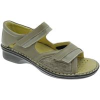 kengät Naiset Sandaalit ja avokkaat Calzaturificio Loren LOM2834to tortora
