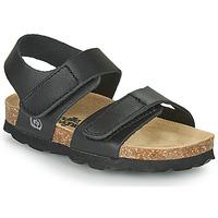 kengät Pojat Sandaalit ja avokkaat Citrouille et Compagnie BELLI JOE Black