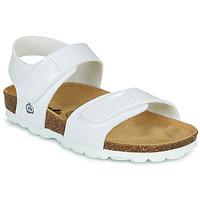 kengät Tytöt Sandaalit ja avokkaat Citrouille et Compagnie BELLI JOE White