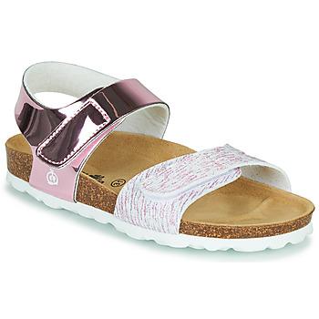 kengät Pojat Sandaalit ja avokkaat Citrouille et Compagnie BELLI JOE Vaaleanpunainen