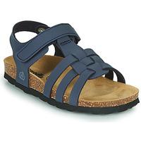 kengät Pojat Sandaalit ja avokkaat Citrouille et Compagnie JANISOL Sininen
