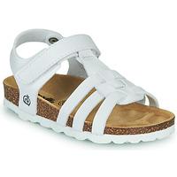 kengät Tytöt Sandaalit ja avokkaat Citrouille et Compagnie JANISOL White