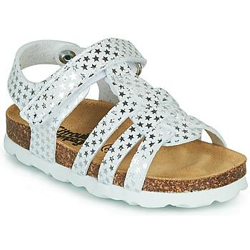 kengät Tytöt Sandaalit ja avokkaat Citrouille et Compagnie MALIA White