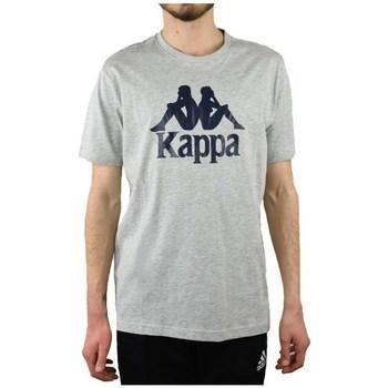 vaatteet Miehet Lyhythihainen t-paita Kappa Caspar Tshirt Harmaat